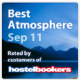 Hostelbookers Best Atmosphere September 2011